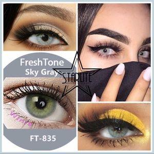 2 X SKY GRAY FreshTone Supernatural Cosmetic Lens